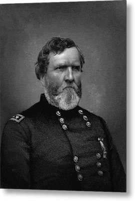General Thomas Metal Print by War Is Hell Store