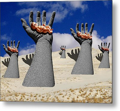 Generation Of Hope Metal Print by Keith Dillon