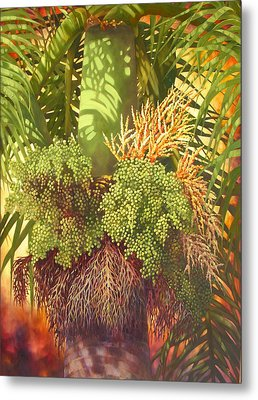 Generations Palm Metal Print by Monica Linville