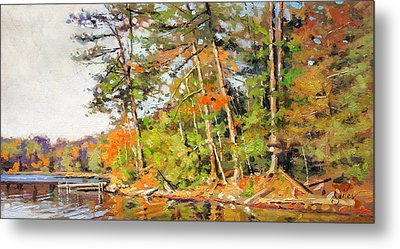Generations Shore Metal Print by Larry Seiler