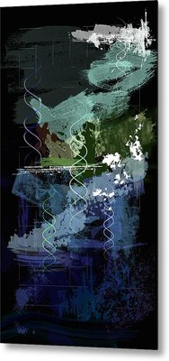 Genesis Day Five  Creatures Metal Print