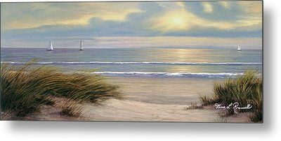 Gentle Breeze Panoramic Metal Print