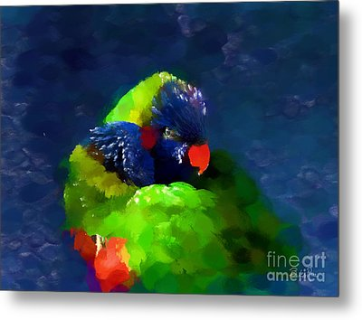 Gentle Love Metal Print by Betty LaRue