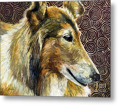 Gentle Spirit - Reveille Viii Metal Print by Hailey E Herrera