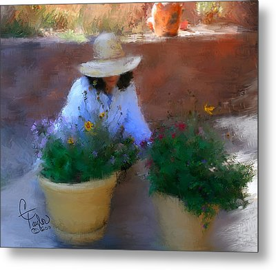Gently Does It Metal Print by Colleen Taylor