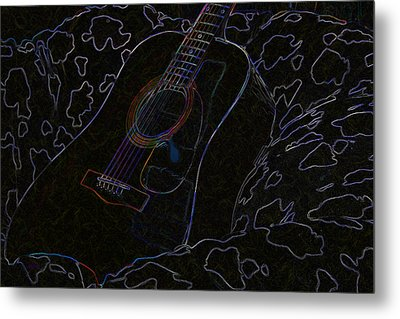 Gently Weeps Metal Print