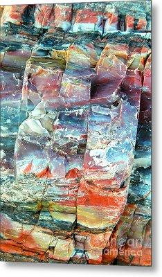 Geologist's Rainbow Metal Print