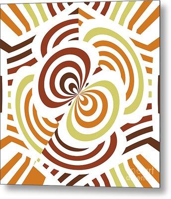 Geometric Infinity Metal Print by Gaspar Avila