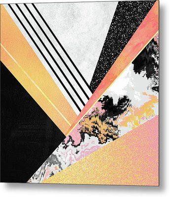 Geometric Summer Metal Print by Elisabeth Fredriksson