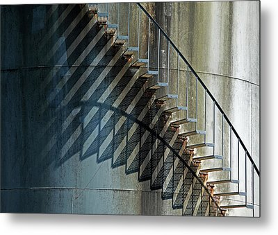 Metal Print featuring the photograph Geometrics by Richard George
