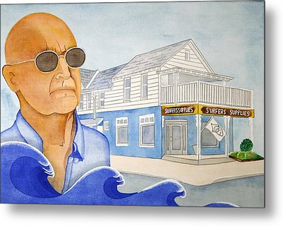 Metal Print featuring the painting George Gerlach by Paul Amaranto