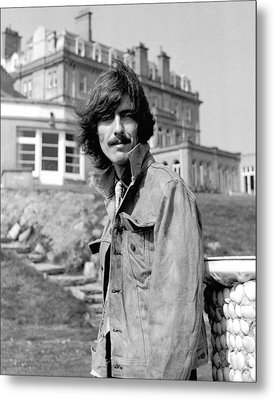 George Harrison Beatles Magical Mystery Tour Metal Print by Chris Walter