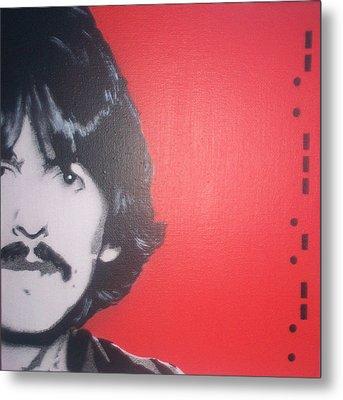 George Harrison Metal Print by Gary Hogben