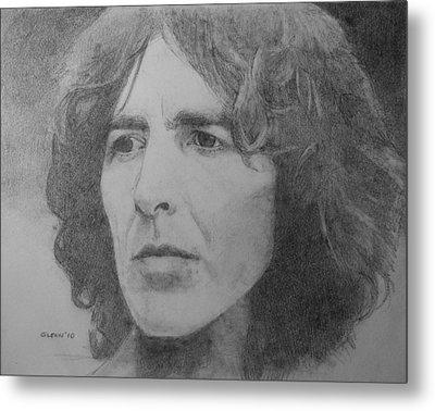 George Harrison Metal Print by Glenn Daniels