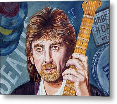 George Harrison Metal Print by Graham Swan