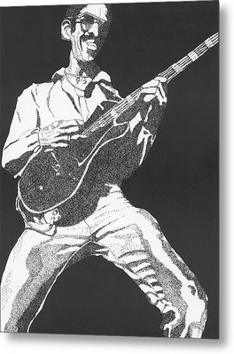 George Johnson Metal Print