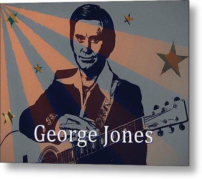 George Jones Poster Metal Print