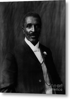 George Washington Carver Metal Print by Celestial Images