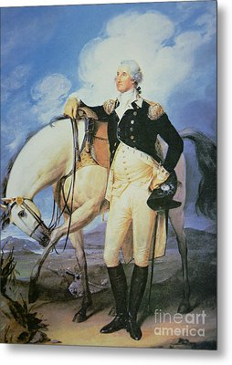 George Washington Metal Print by John Trumbull