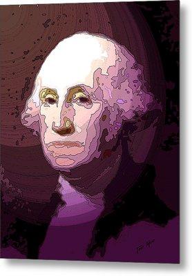 George Washington Metal Print by Tray Mead