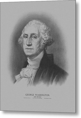 George Washington Metal Print by War Is Hell Store