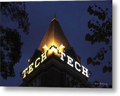 Georgia Tech Atlanta Georgia Art Metal Print by Reid Callaway
