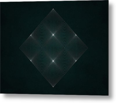 Geosymmetry 5 Metal Print by Edouard Coleman