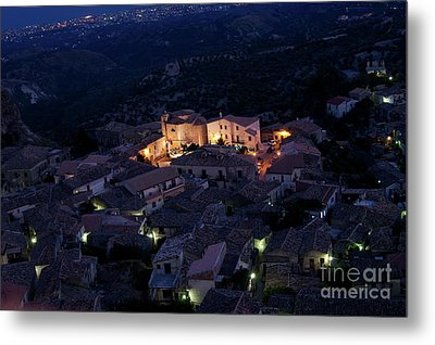Metal Print featuring the photograph Gerace by Bruno Spagnolo