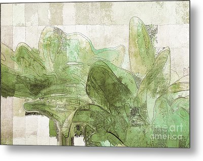 Metal Print featuring the digital art Gerberie - 30gr by Variance Collections
