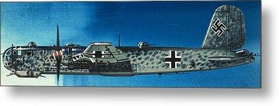 German Aircraft Of World War  Two Focke Wulf Condor Bomber Metal Print