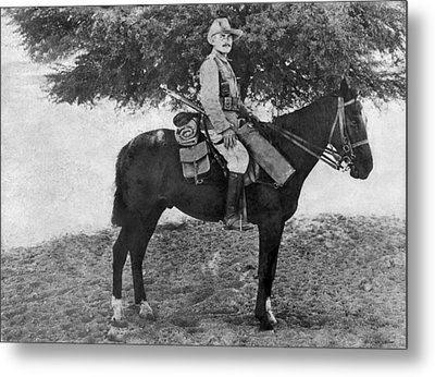 German Calvary Member Metal Print by Underwood Archives