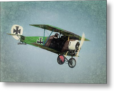 Metal Print featuring the photograph German Fighter by James Barber