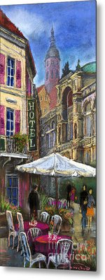 Germany Baden-baden 07 Metal Print by Yuriy  Shevchuk