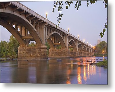 Gervais Bridge Metal Print