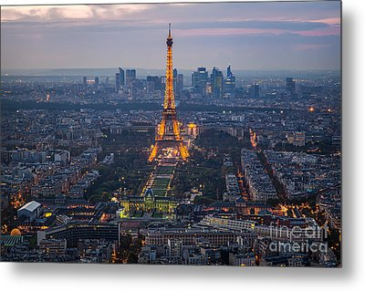 Get Ready For The Show Metal Print by Giuseppe Torre