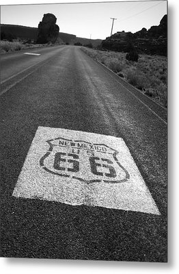 Get Your Kicks In New Mexico Metal Print by Eric Foltz