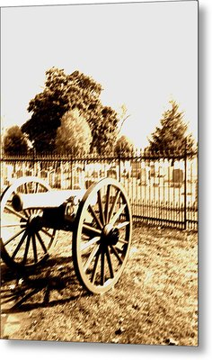 Gettysburg Cannon Metal Print by Utopia Concepts