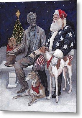 Gettysburg Christmas Metal Print by Charlotte Yealey