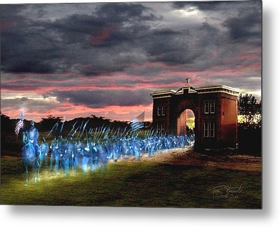 Gettysburg Evergreen Metal Print by Tom Straub