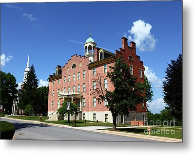 Gettysburg Theological Seminary Schmucker Hall Metal Print by James Brunker