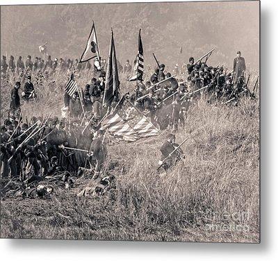 Gettysburg Union Infantry 8963s Metal Print