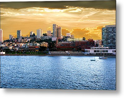 Ghirardelli Square Metal Print by Michael Cleere