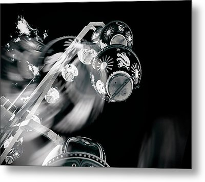 Metal Print featuring the photograph Ghost In The Machine by Wayne Sherriff