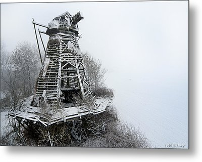 Ghost Mill Metal Print by Robert Lacy