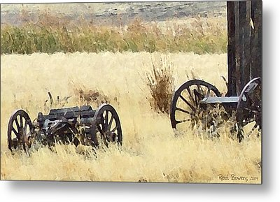 Ghost Of The Oregon Trail Metal Print by Everett Bowers