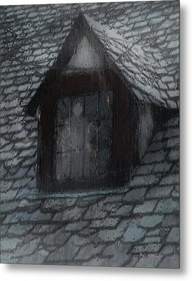 Ghost Rain Metal Print by RC deWinter
