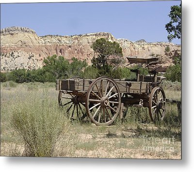 Ghost Ranch Metal Print by Mary Rogers