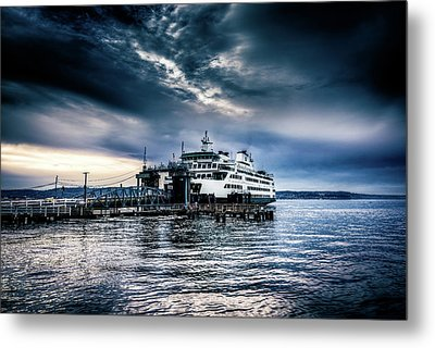 Ghost Ship Metal Print by Spencer McDonald
