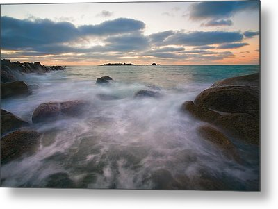 Ghost Tides Metal Print by Mike  Dawson