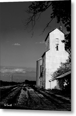 Ghost Town Metal Print by Ed Smith